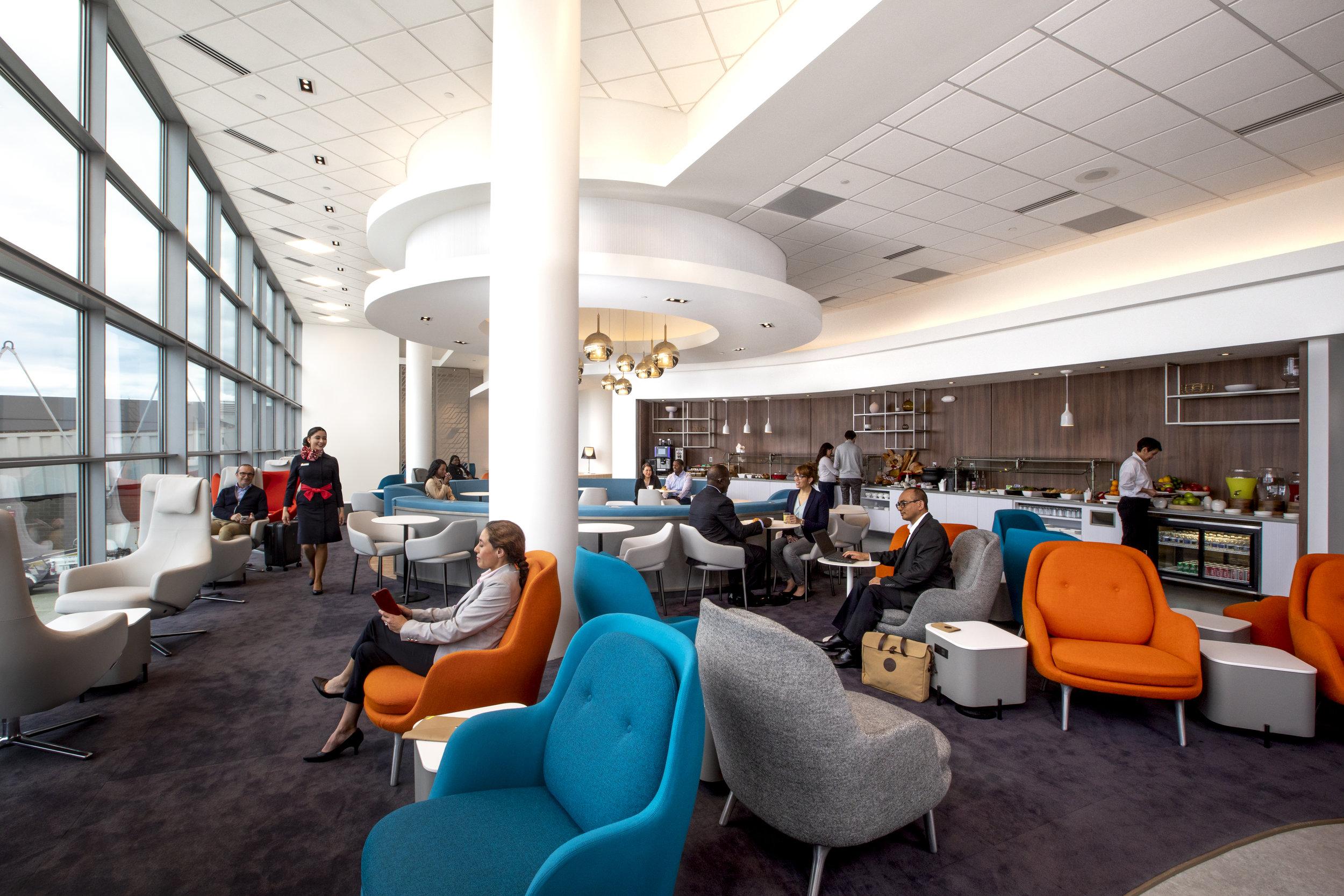 Air France Lounge Washington Dulles International Airport