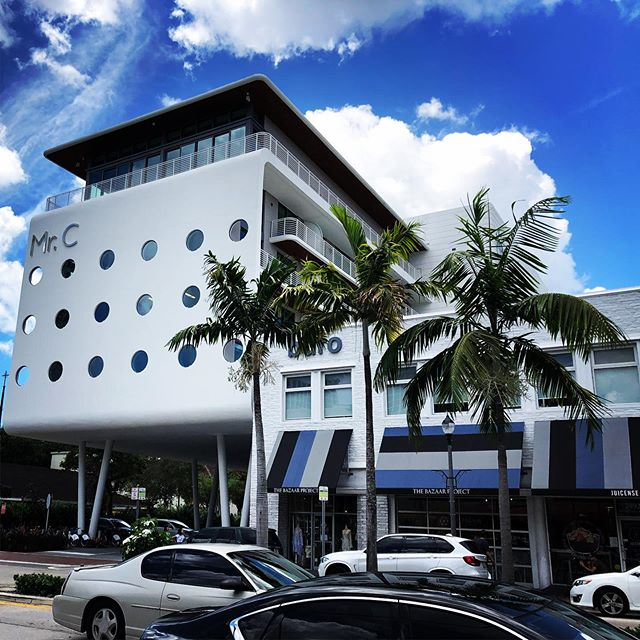 Beautiful day in @coconutgrovemiami The new @mrchotel in the Grove is on my list — The Grove is only 10 minutes from Miami Airport and right on Biscayne Bay. #miami #coconutgrove #florida #travel