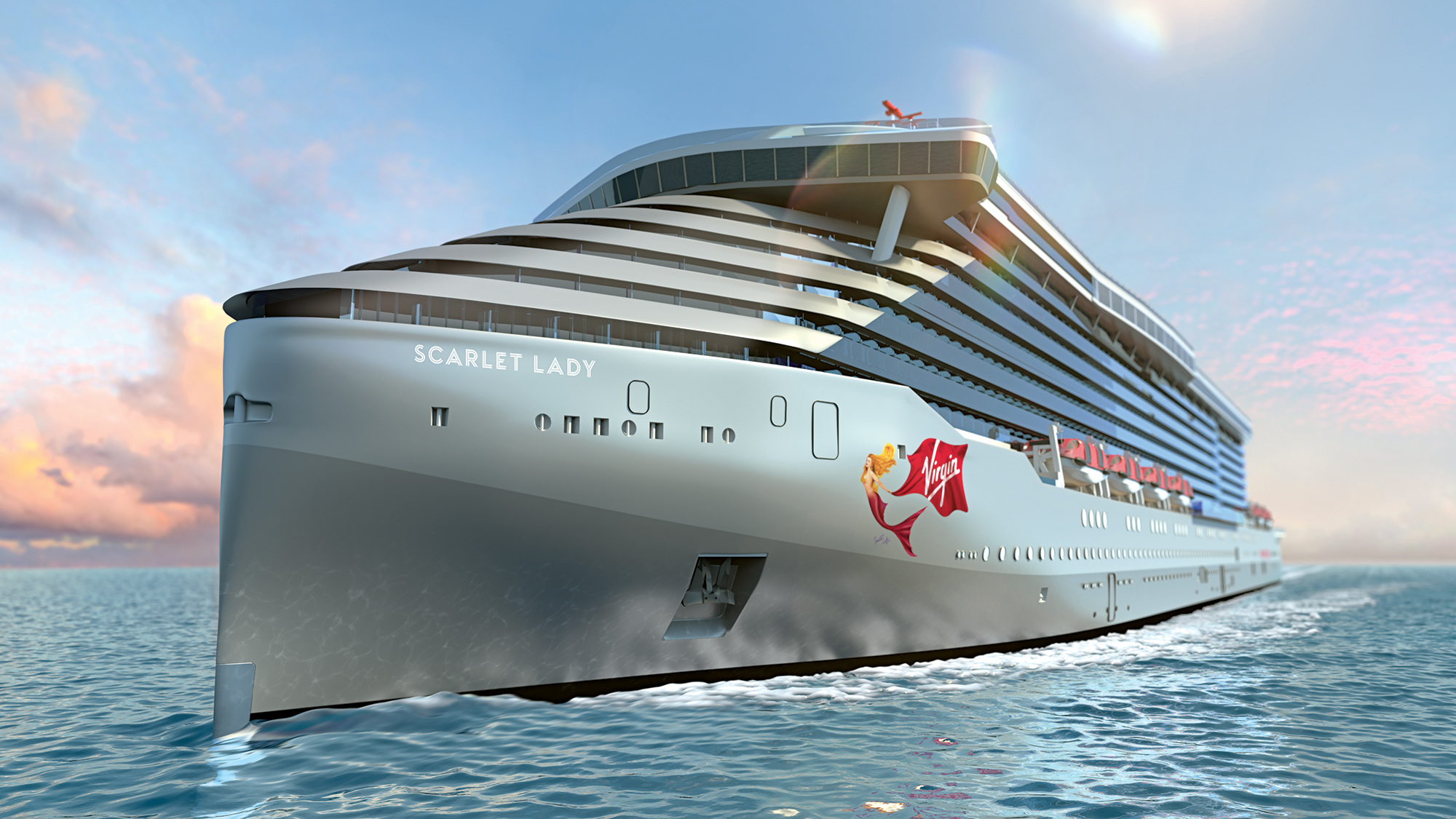 Virgin Voyages Scarlet Lady Ship