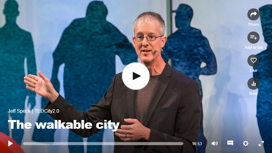 The walkable city - Jeff Speck, 2013