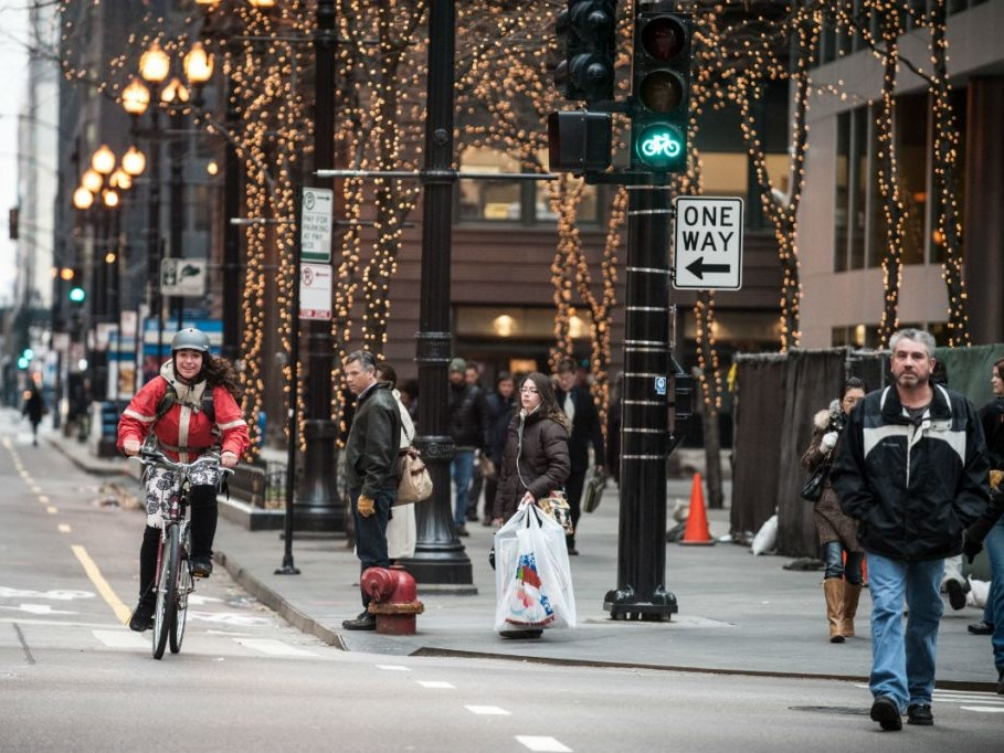 Prioritizing pedestrians and bikers promotes a physically healthy lifestyle -