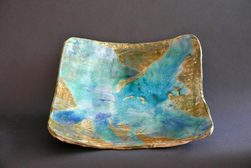 Turquoise Platter