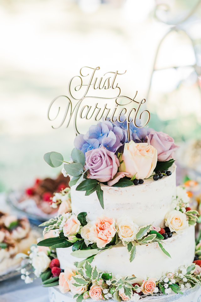 Hochzeitstorte Boho
