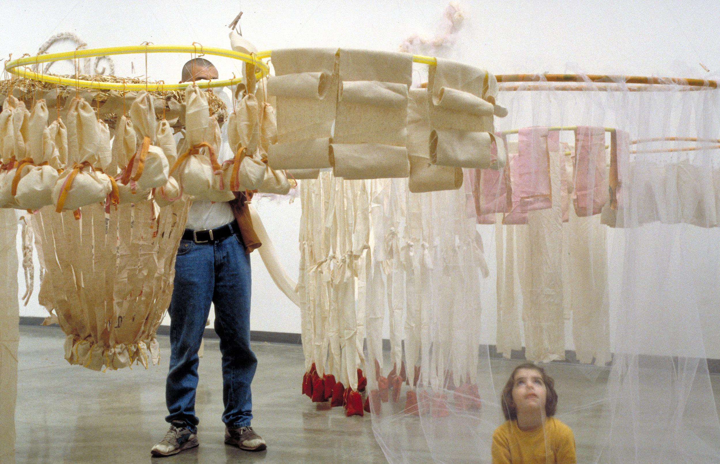 Liquid Incorporated,  Headroom , Atlanta Contemporary Art Center, 1995. Courtesy of Amy Landesberg and Lisa Quatrale.
