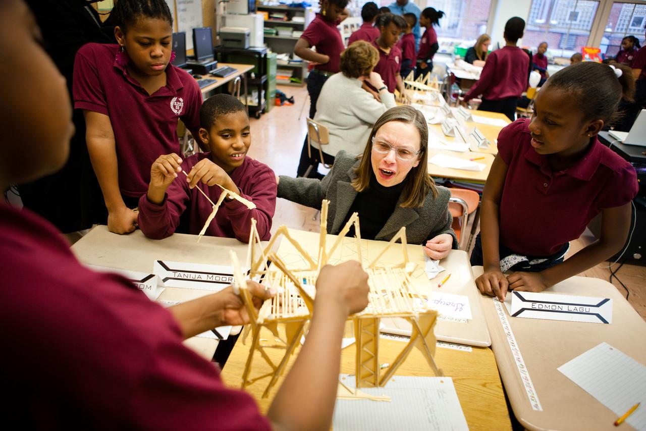 Architecture + Education Program, Buffalo Public School 53 Sponsored by the Buffalo Architecture Foundation, Architecture + Education Program, photography courtesy of Douglas Levere, 2011