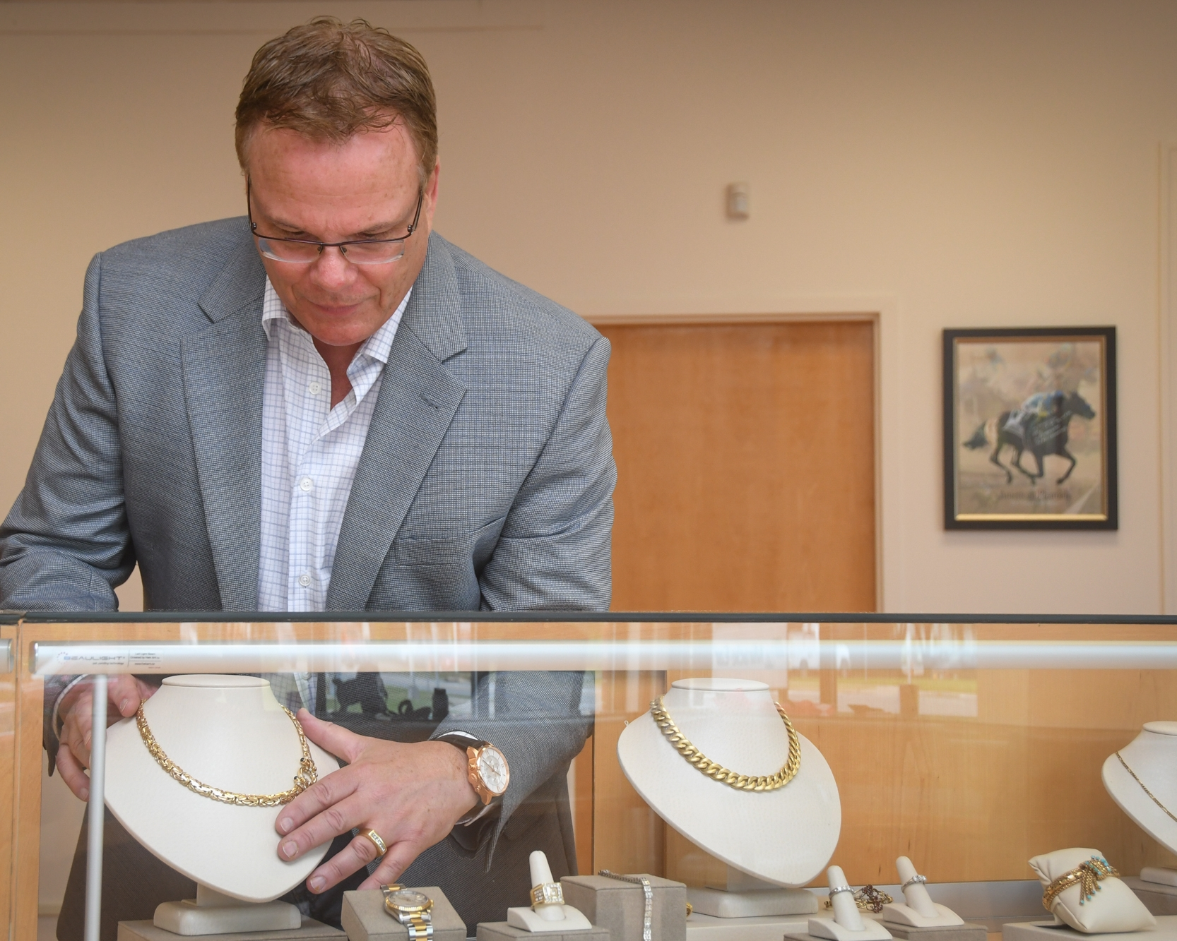 Brian Bucher, Jewelry Manager