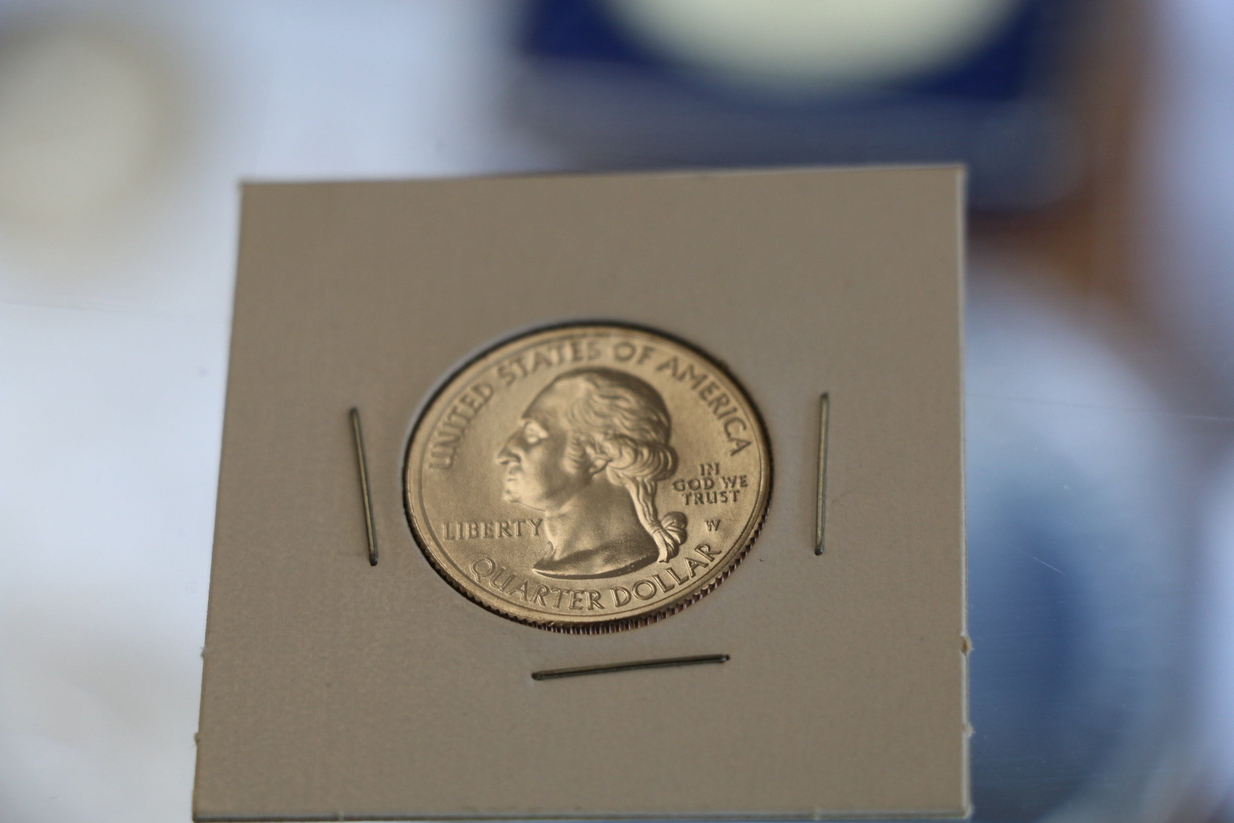 The first 2019-W Quarter to come into the Ferris Coin & Jewelry Co. store at 199 Wolf Road, Colonie, N.Y.