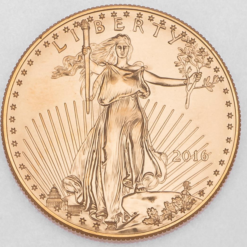 Gold Eagle Coin (Obverse)