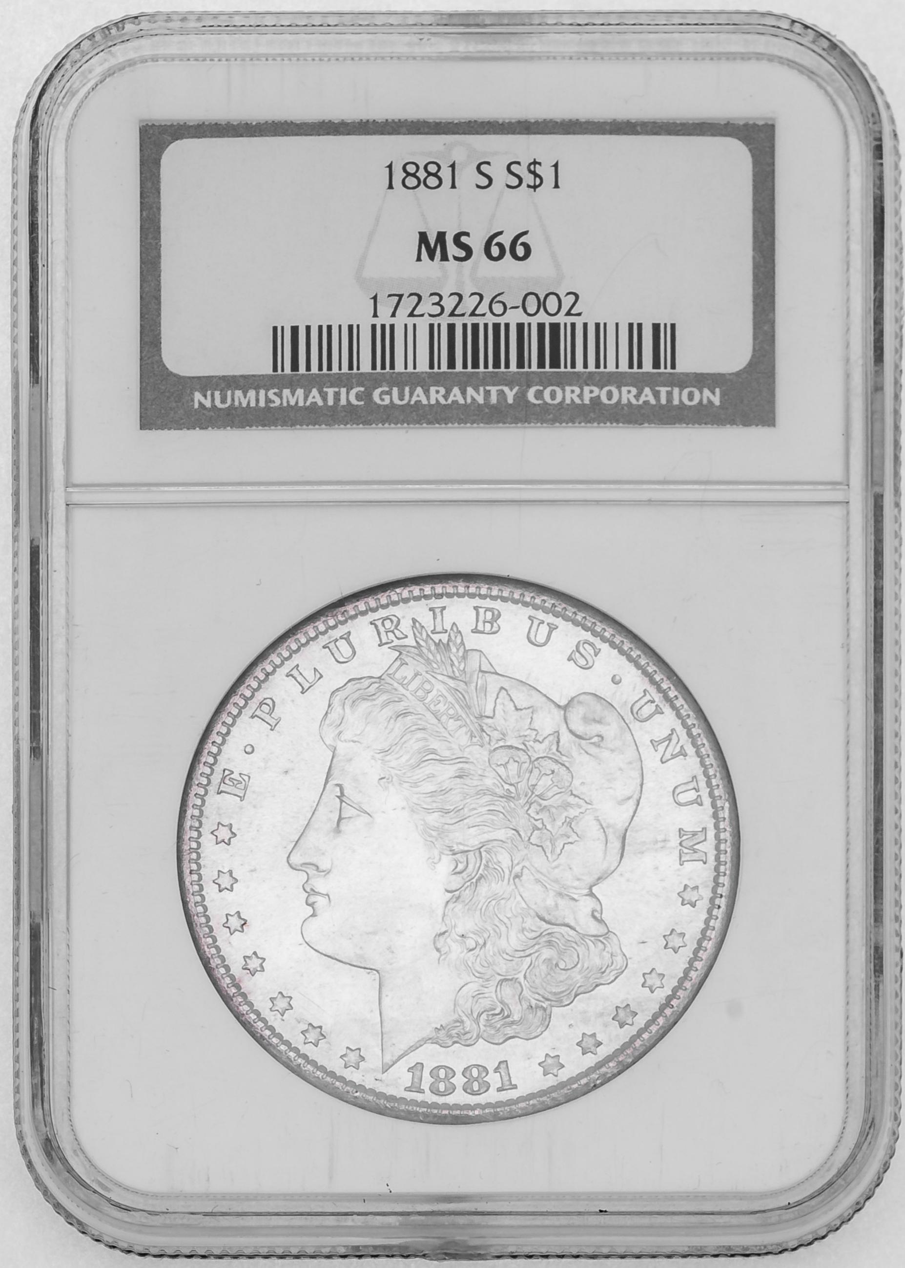 1881+Silver+Dollar