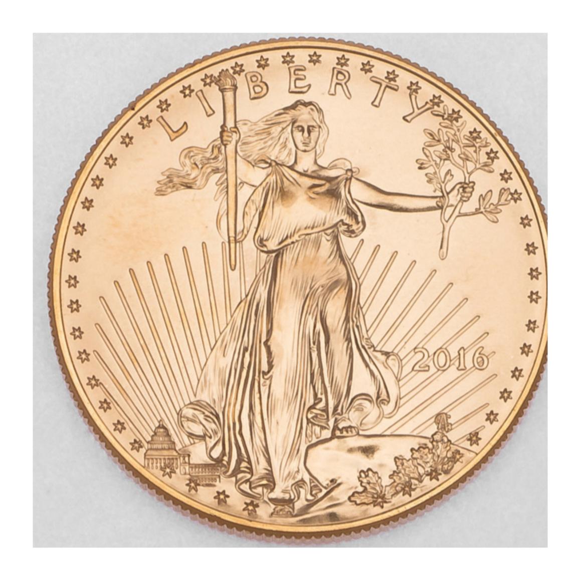 Gold Eagle Obverse