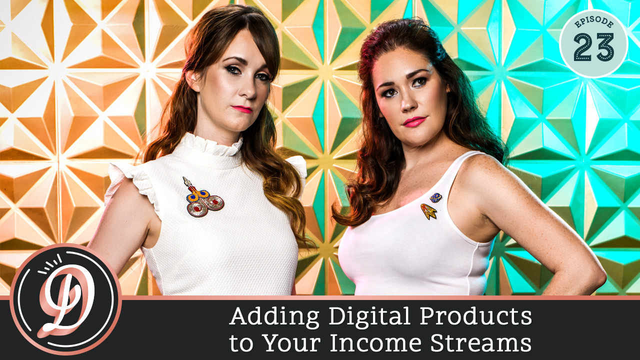 Adding physical products to your income streams sounds like it could be a logistical nightmare! How do you get the products made? How do you ship them out? How do you accept payment? Do you need to have all the products on hand? Well, no need to feel overwhelmed! This week The Decorettes are interviewing Kat Gaskin of Salty Pineapple and the Content Planner and she's giving her best tips on not just adding physical products into your business, but also how she built her brand and influence on Instagram.