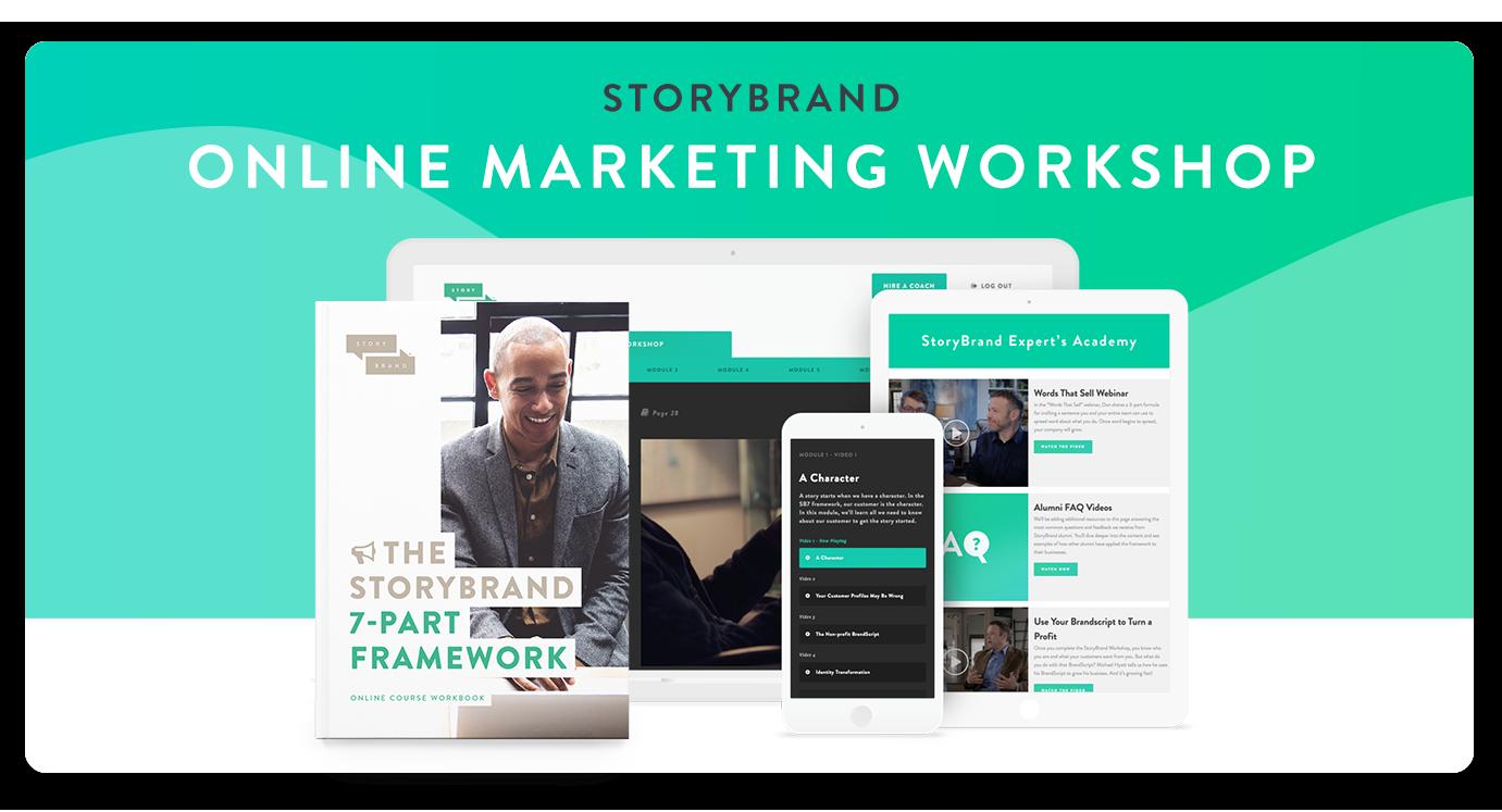 StoryBrand Online Marketing Workshop | Stephanie Owens StoryBrand Certified Guide