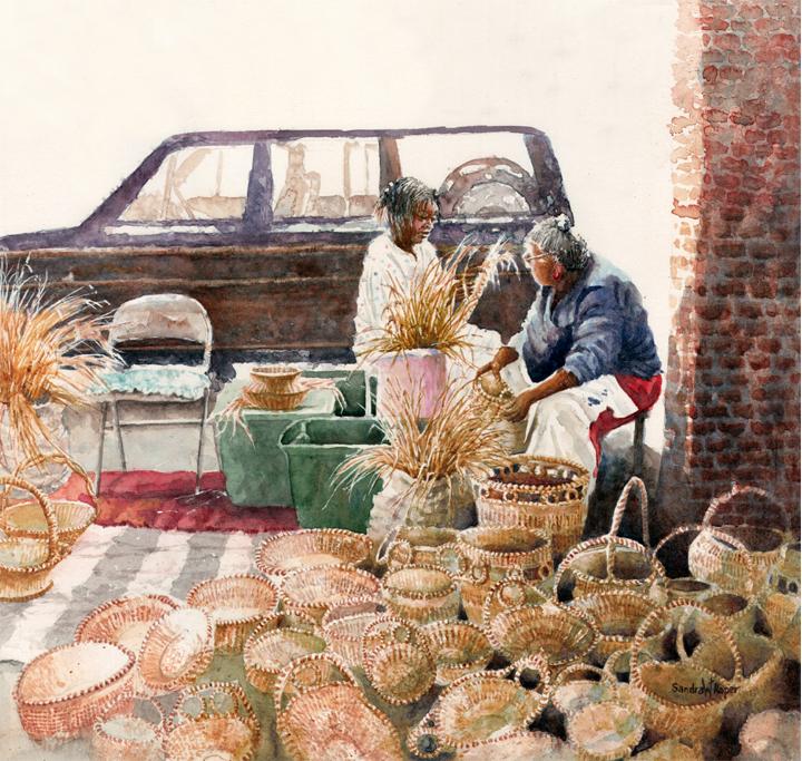 Sweetgrass Market Weavers
