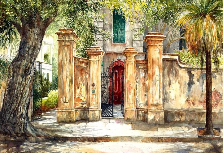 Red Door, Legare St, Charleston