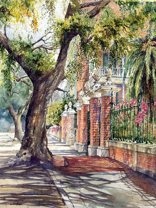 Pineapple Gates House