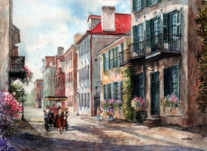Copy of Historic Tradd Street, Charleston, SC