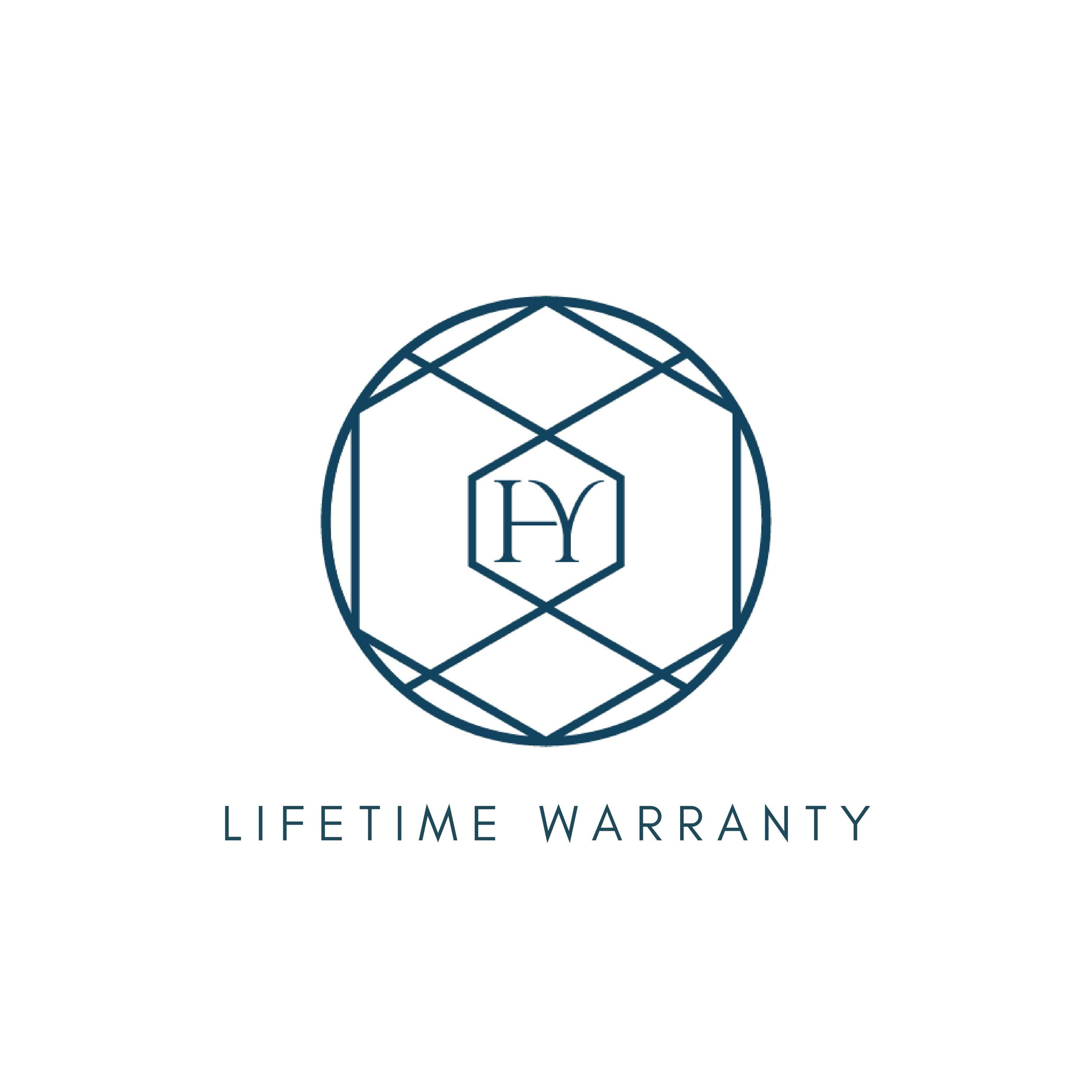 Lifetime Warranty - At Humaiyra we take pride in the quality of our products and are confident in the quality of each piece. Whether it is your wedding band, engagement ring or any other piece of jewellery from our curated collections, we make all our jewellery fit to last you a lifetime and beyond, ready to pass down to generations to come. All our pieces are individually crafted by master craftsmen and each piece is inspected meticulously after completion to ensure it meets our standards and your expectations. With this high level of workmanship behind us we back our products against any manufacturing defects.