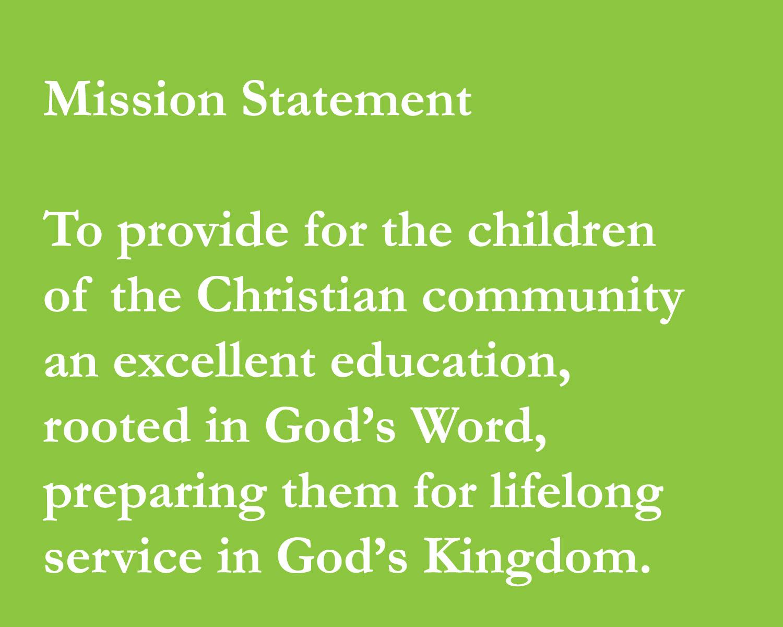 mission of Byron Center Christian School