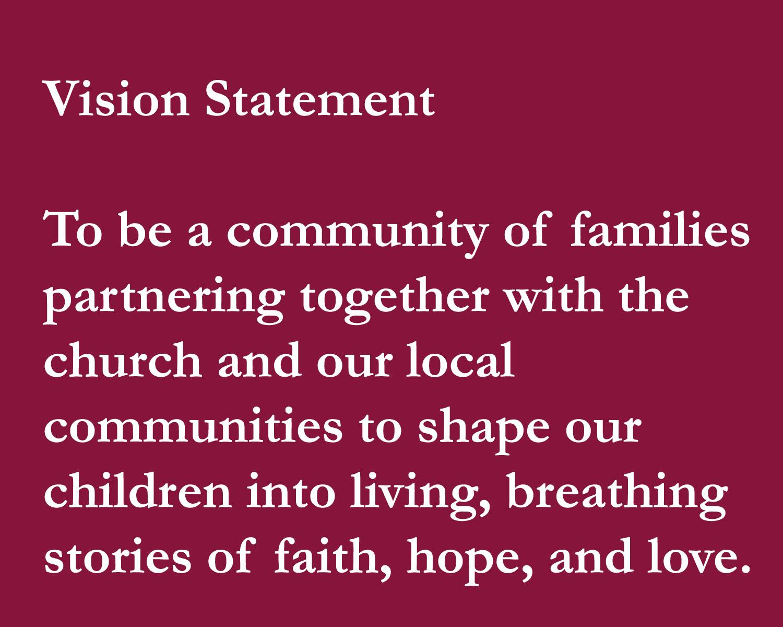 vision of Byron Center Christian School