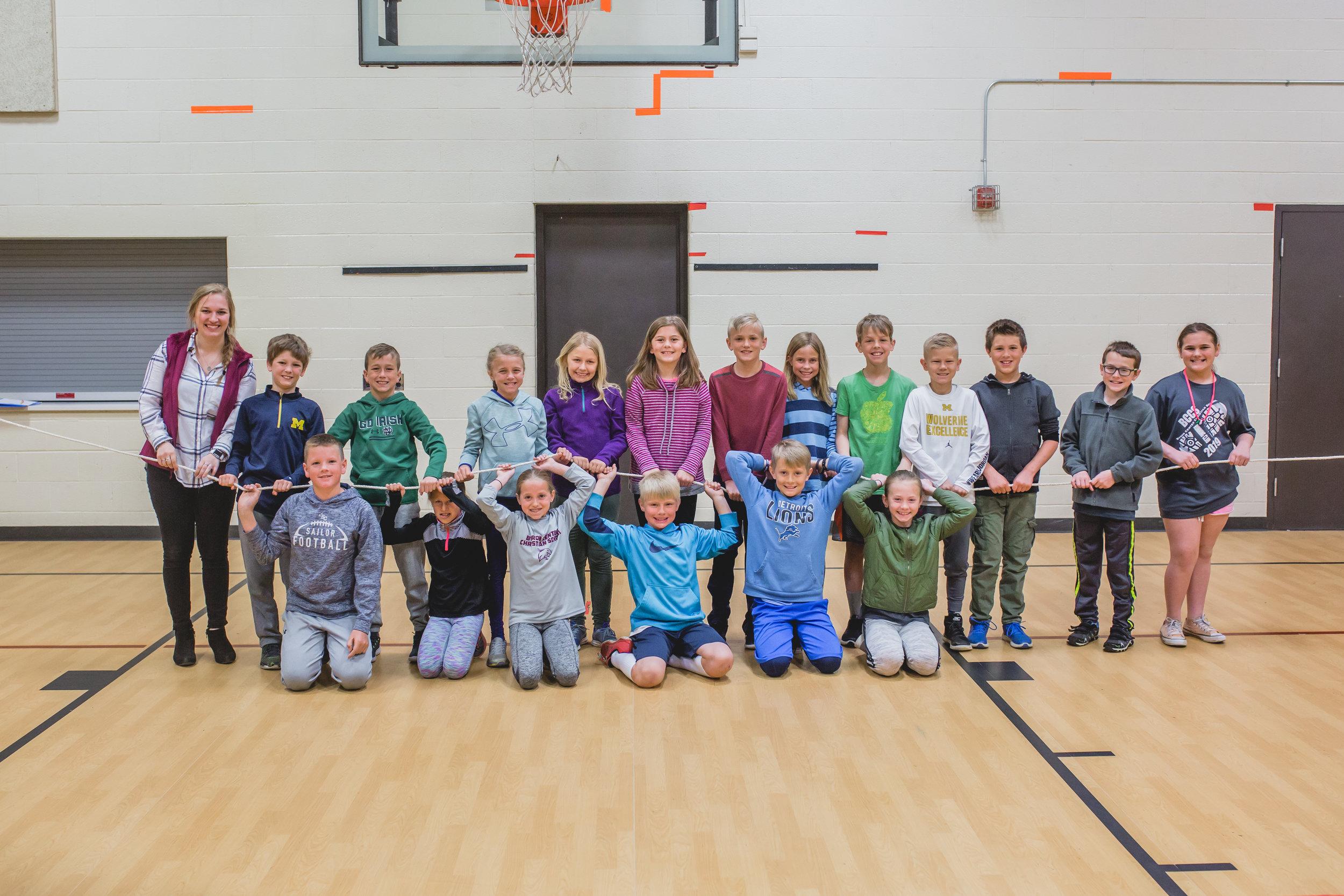 fourth grade private christian school