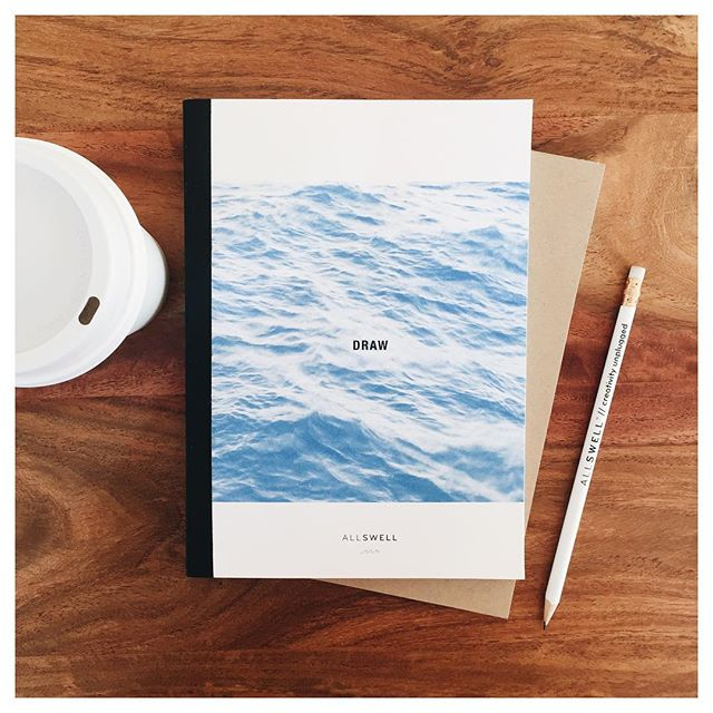 The perfect day should always start with a surf session, followed by a coffee and a sketchbook. 👙☕️