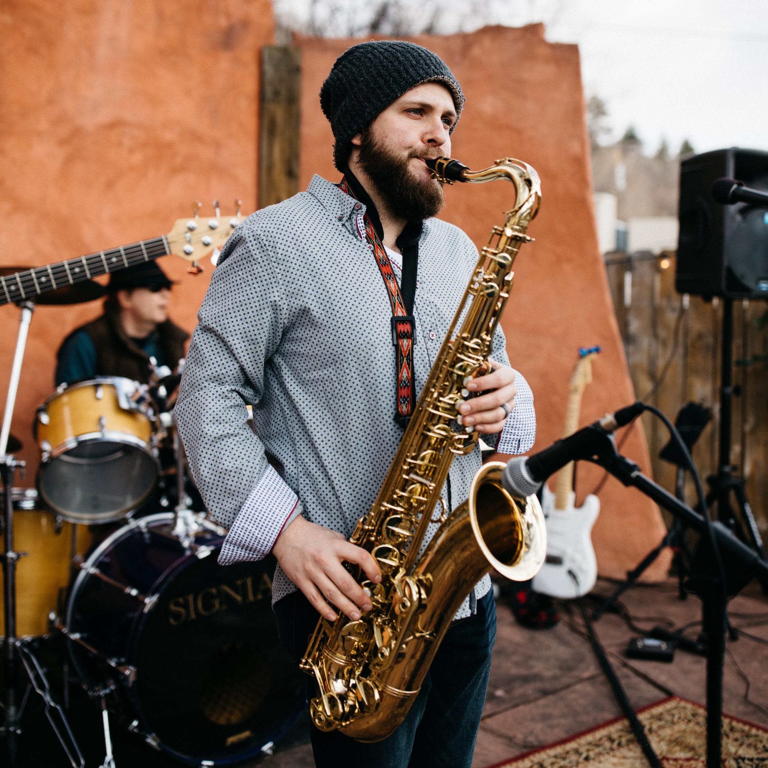 Michael George McCloskey - Saxophones & WebmasterPhoto by Sharee Davenport