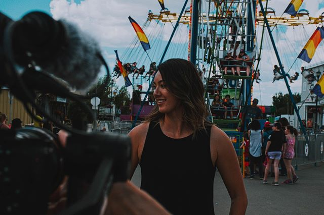 We've almost finalized our first episode for Big Things Small Towns with@cbcarts. I am so crazy excited to show you. . 📷 @cardhousedreamer . #falher #alberta #albertatourism #carnival #bee #bees #bugs #insects #massive #objects #btst #bigthingssmalltowns