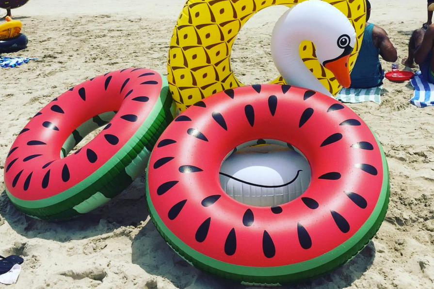 Inflatable Swim Rings -