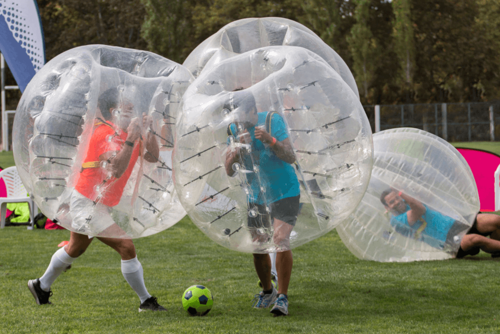 inflatable-body-zorbs