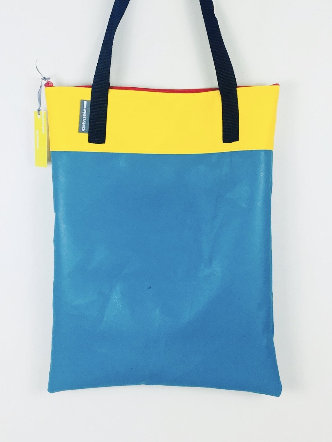 2 Tone Tote - These are wipe clean, reusable and waterproof, now with a zipped top edge as standard, in a colour that's guaranteed to clash nicely!Dimensions W 320mm x H 350mm
