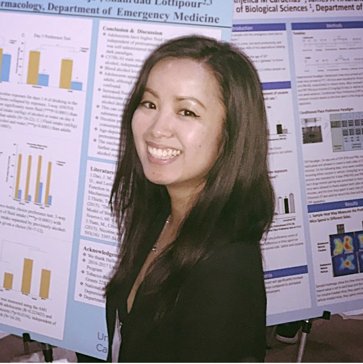 Sally Liu, UCI Campus-wide Honors Program Student and Laboratory Alumnus