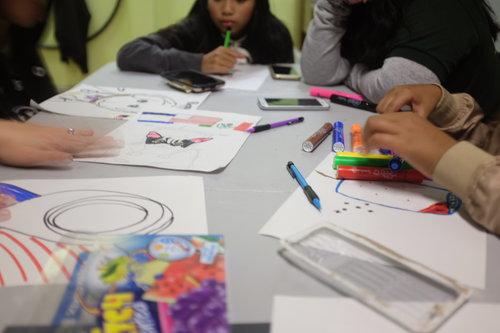 Children Craft Self Portraits-3.jpg