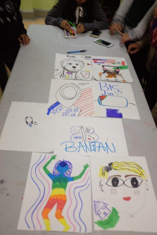 Children Craft Self Portraits-4.jpg
