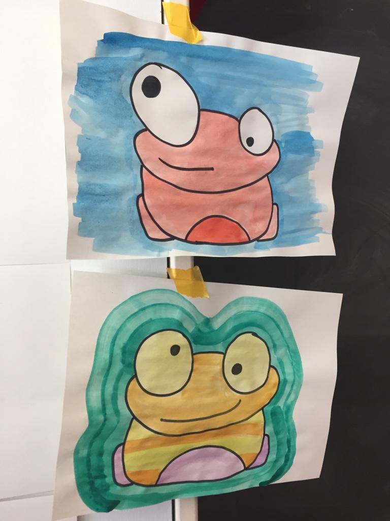 ARTogether Zurich Draw a Frog