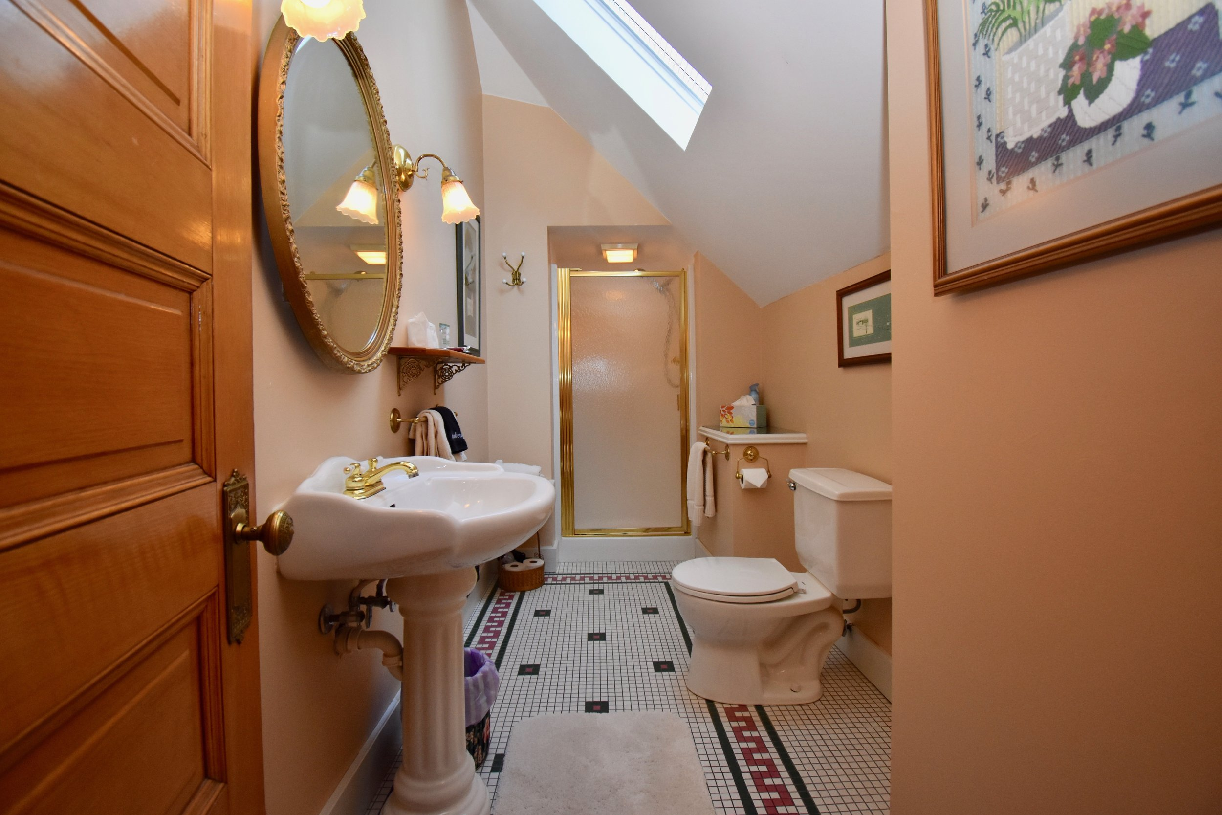 Private Bathroom with Shower