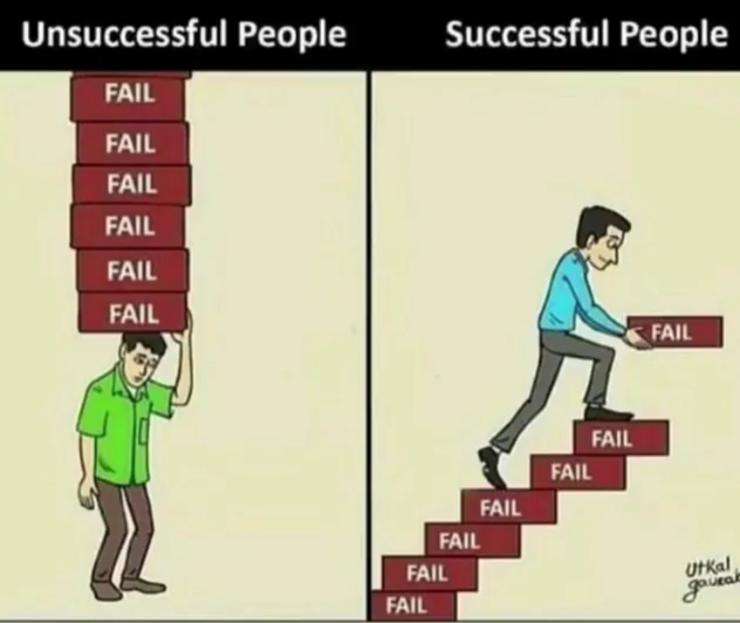 """""""Failing means you tried at something.� -L"""