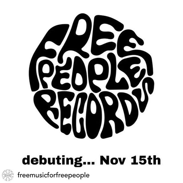 It's true! I'm starting a label ✨... debuting on Nov 15th! ... Check out @freemusicforfreepeople and www.fm4fp.com for more info 🤗 #FreePeopleRecords #Label