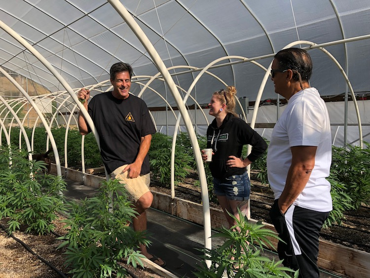 Huckleberry Farms    sought a compliance partner with expert care, strong attention to detail, and a passion for the cannabis community. Pictured: CEO John Casali with RMCC CEO BriAnne Ramsay.