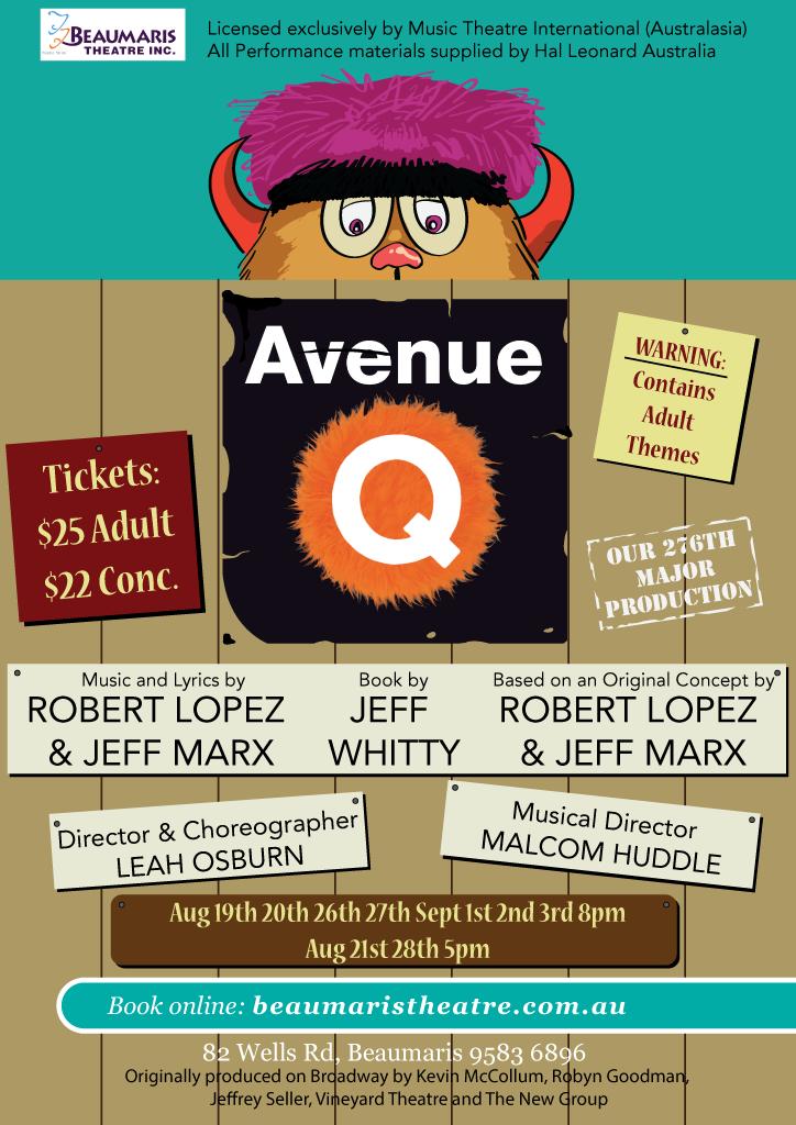 Avenue Q 2016