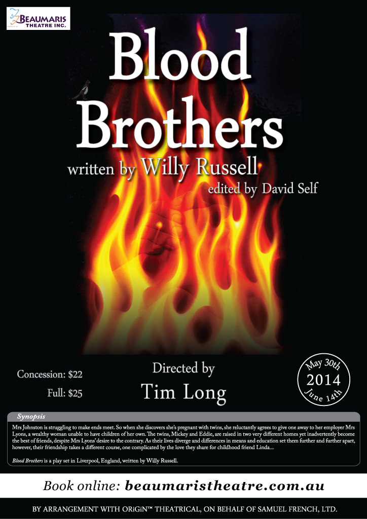 Blood Brothers 2014