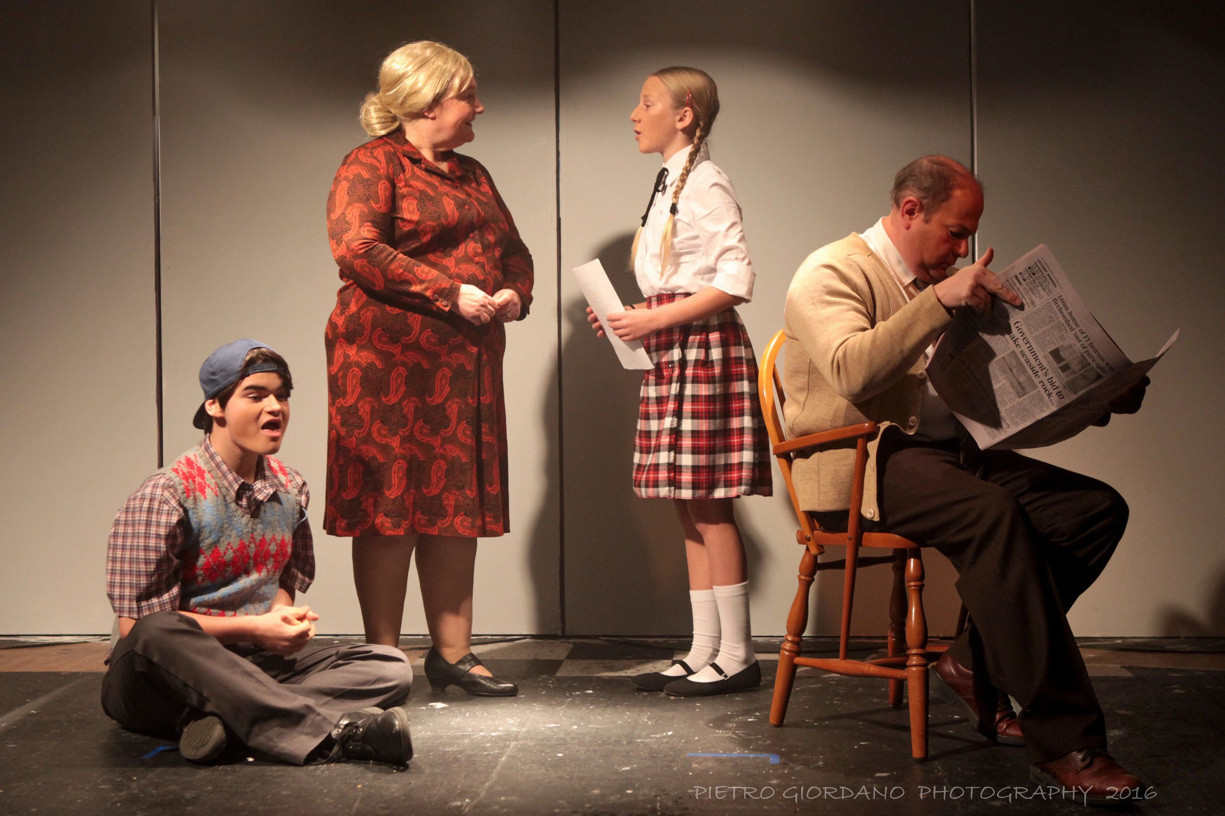 37. Rad Valance- teenage Charlie, Margot Sephton- Rose Gordon, Madeleine Maes- young Norma and Colin Sephton- Matt Gordon.jpg