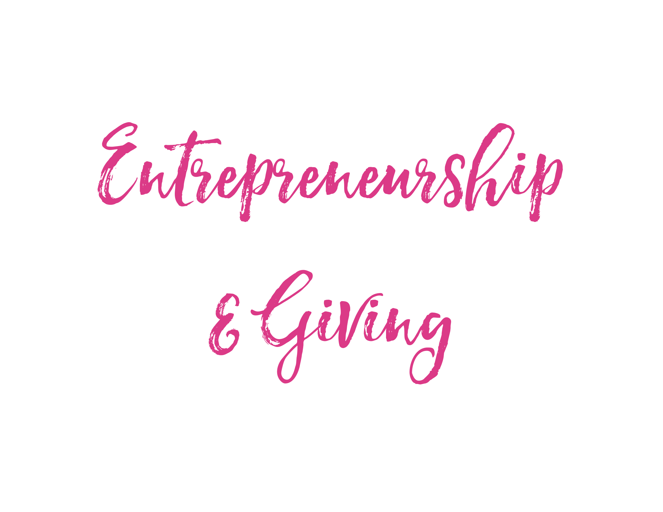 Build your own company or charity