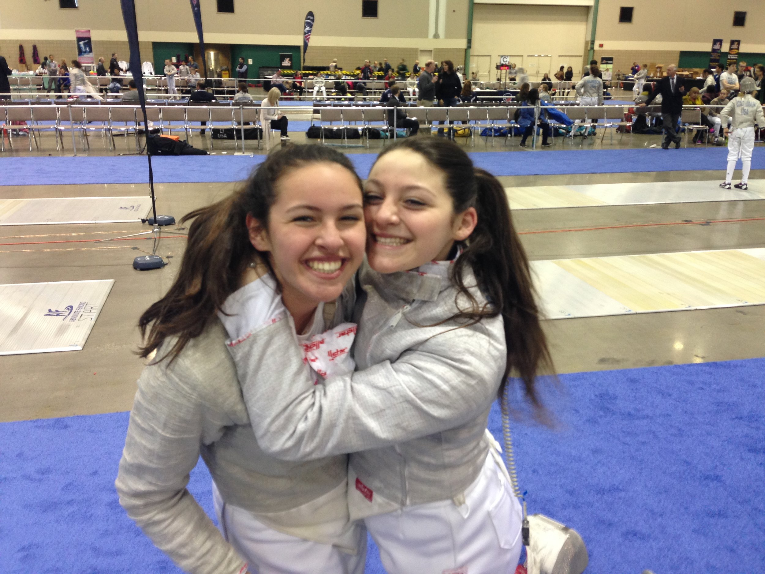 imaginate ink twins win gold and 5th in fencing junior olympics - Congratulations Ryan and Morgan!