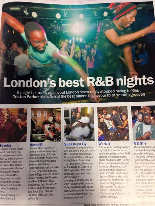 - London's best rnb nights - time out