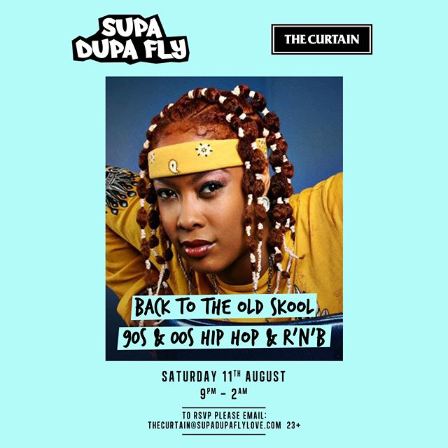 Da Brat 💛 We're back to bring the Old Skool vibes at the flyest member's club in Shoreditch Sat 11th Aug w/ Djs @emilyrawsondj  @akateddy ❤ Comp g lists only thecurtain@supadupaflylove.com (max of 5 names) 23+. . *We welcome everyone to our events & they're very much inclusive! However, for our private events at The Curtain, to keep in line with their membership ethos, was encourage guests from the creative industries. . . . . . . . . . . . . . . . . . . . #dabrat #oldskool #90shiphop #90srnb #maryjblige #lilkim #eve #nas #hiphop #rnb #shoreditch #thecurtain #membersclub #london #aaliyah #2pac #mase #tlc #jlo #usher #diddy #destinyschild #puffy #ludacris #total #jermainedupri #instapic #picoftheday #mariahcarey #love