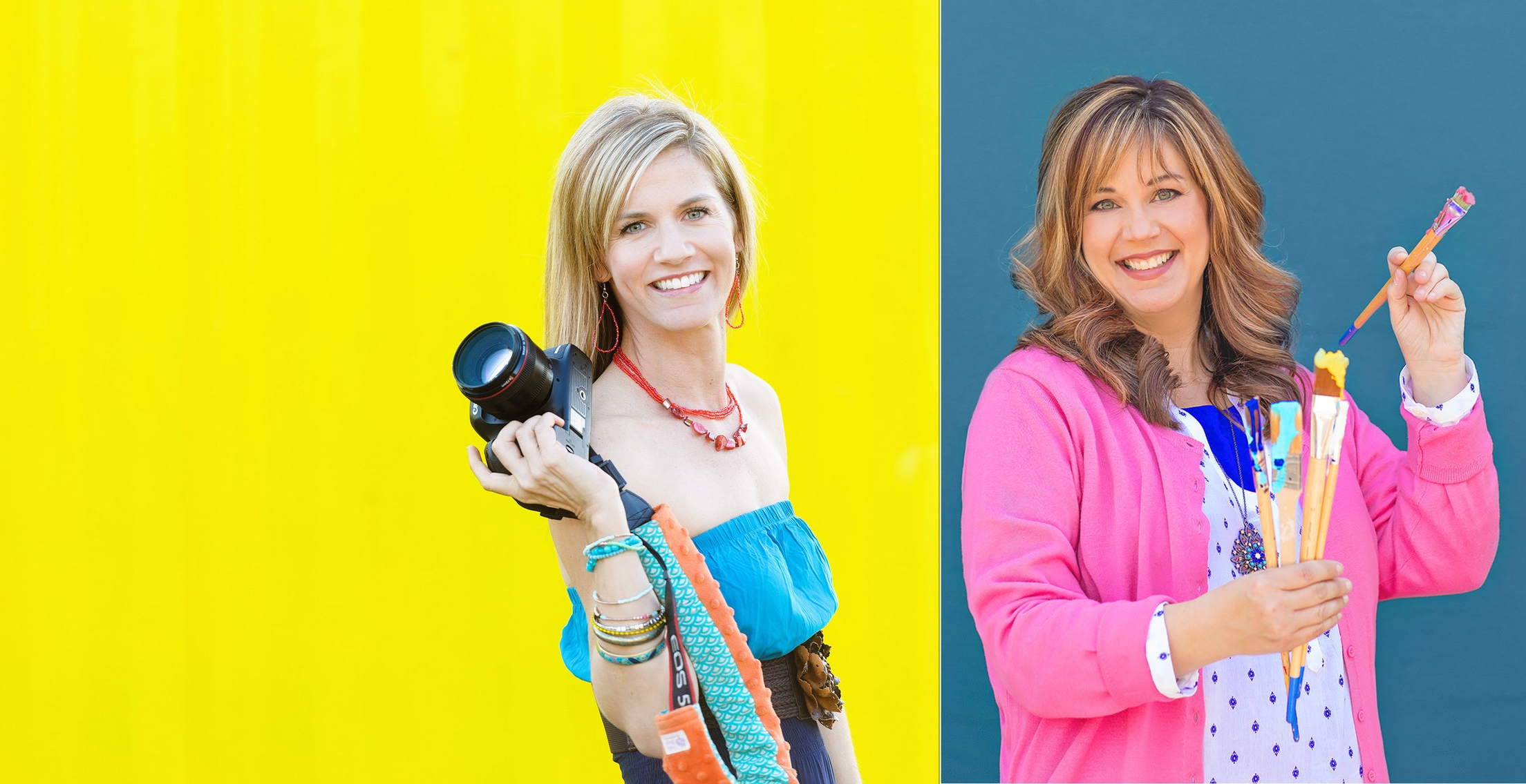 How the stars aligned. - Tracy and Jennifer are excited to teach future photographers and designers a skill they will enjoy and possibly learn to love as a profession. Read more about how this journey started.
