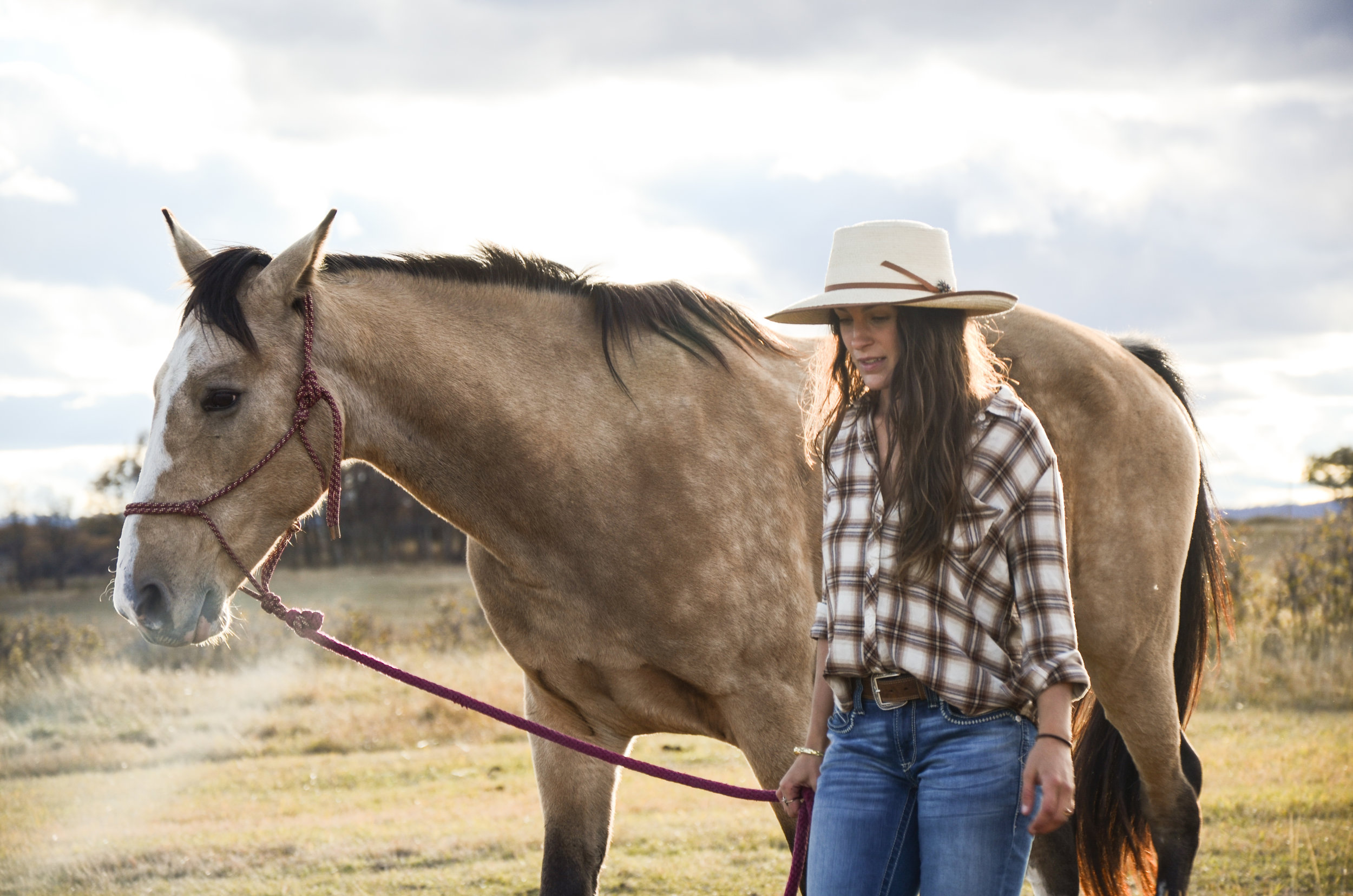Brittany Wallace, manager at Trout Stalker Ranch