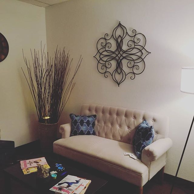 Doesn't that look like a lobby you want to sit in to start the your therapy journey and change your life?! Find that lobby at Reviive Therapy Services. Call for a free consult today.