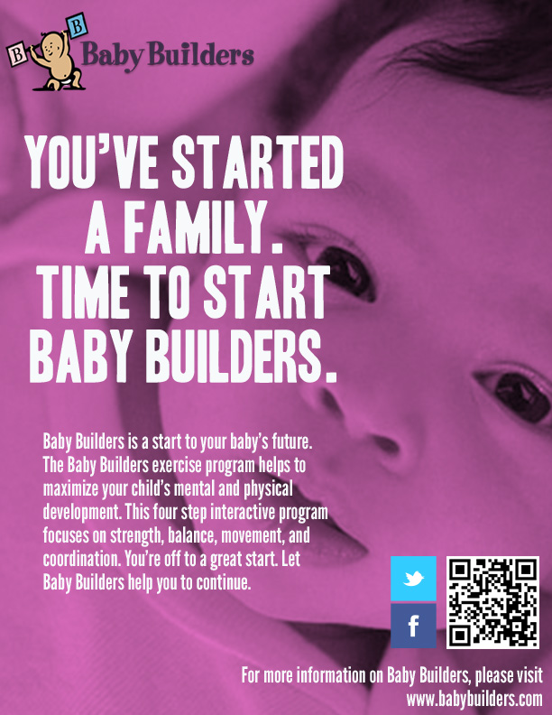 Magazine Ad 2 of 3 for Baby Builders campaign.