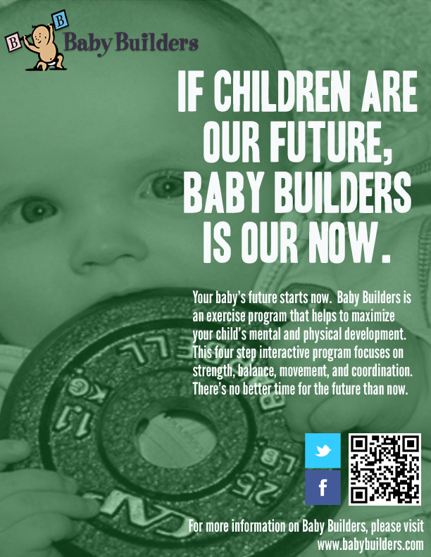 Magazine Ad 3 of 3 for Baby Builders campaign.